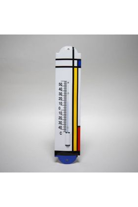 Emaille thermometer Kunst