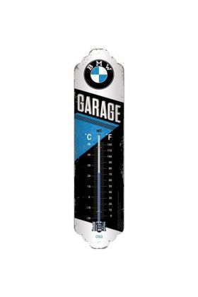 Thermometer BMW Garage metaal